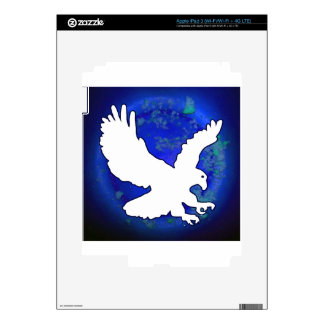 EAGLE BLUE BACKGROUND PRODUCTS DECALS FOR iPad 3
