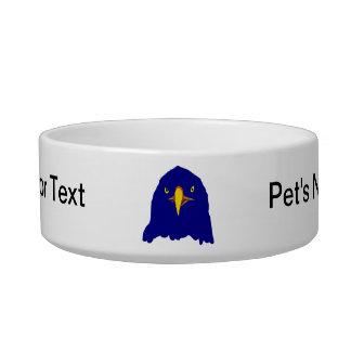 eagle blue bowl