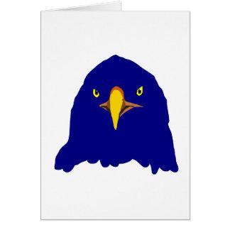 eagle blue card