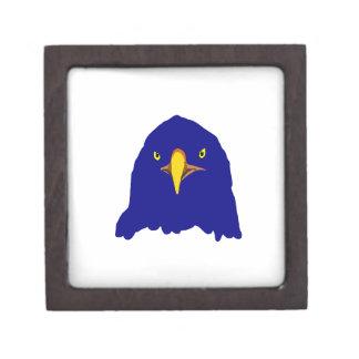 eagle blue keepsake box