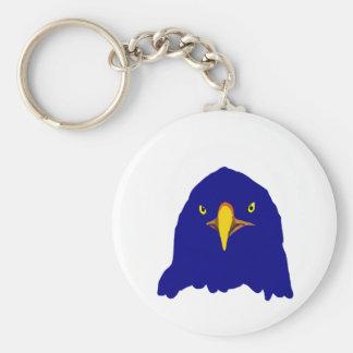 eagle blue key chain