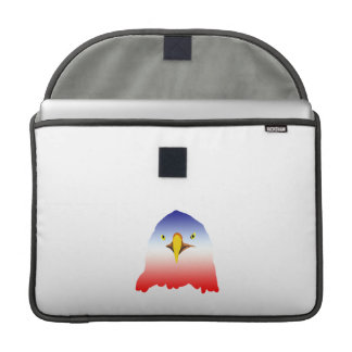 eagle blue white red cartoon sleeve for MacBooks