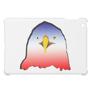 eagle blue white red w outline horizontal gradient iPad mini case