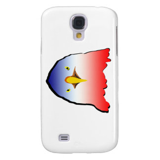 eagle blue white red w outline horizontal gradient samsung galaxy s4 cover