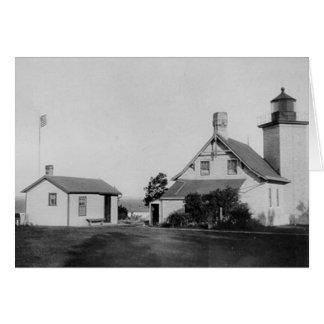 Eagle Bluff Lighthouse Card
