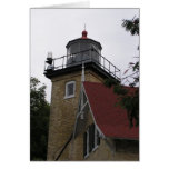 wisconsin, lighthouse, door county, eagle bluff,