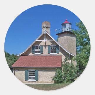 Eagle Bluff Lighthouse Sticker