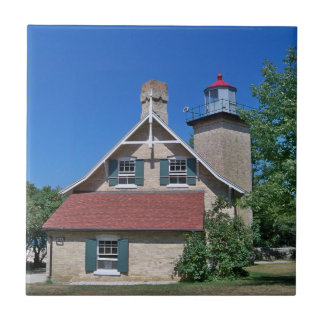 Eagle Bluff Lighthouse Tile