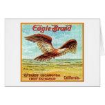 Eagle Brand Fruit Crate Label Card