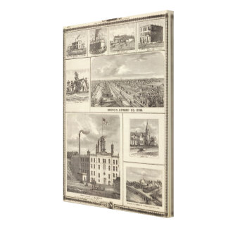 Eagle Brewery, Cedar Rapids Canvas Print