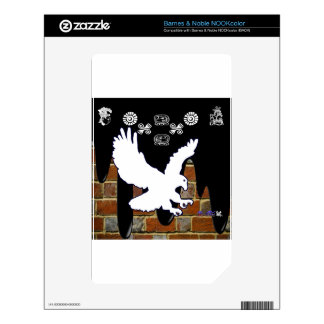 EAGLE BRICK BACKGROUND PRODUCTS NOOK COLOR DECALS