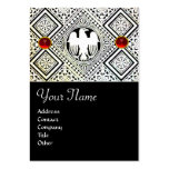 EAGLE , bright RED RUBY Business Card