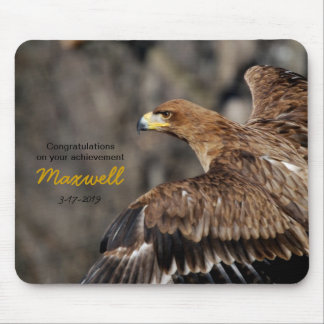 Eagle - Brown - Photography Customizable Mouse Pad