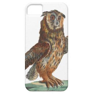 Eagle-Búho - bubón del bubón iPhone 5 Case-Mate Cobertura