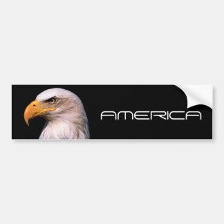 Eagle Car Bumper Sticker