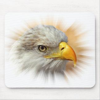 Eagle Burst Mouse Pad