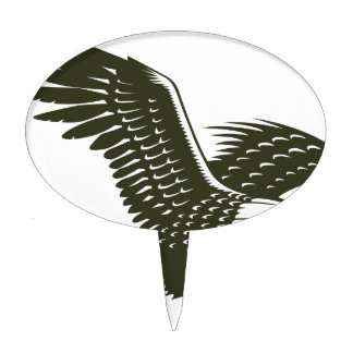Eagle Cake Toppers