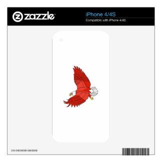 Eagle Calcomanías Para El iPhone 4