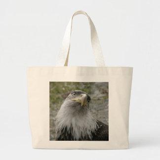 Eagle calvo adulto joven bolsa de mano