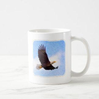 Eagle calvo altísimo taza clásica