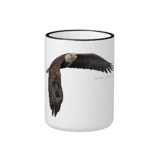 Eagle calvo altísimo - taza de café