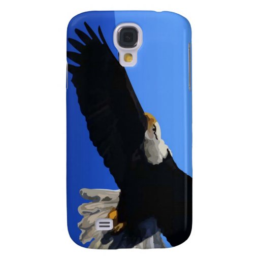 Eagle calvo americano funda para galaxy s4
