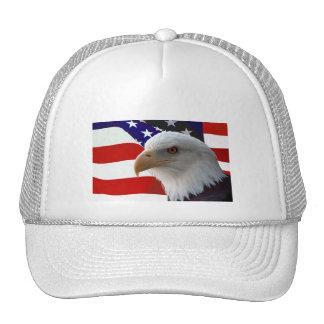Eagle calvo americano gorras de camionero
