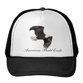 Eagle calvo americano gorro de camionero