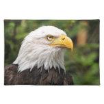 Eagle calvo americano manteles