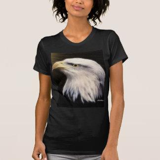 Eagle calvo americano/mosca con Eagles Camiseta