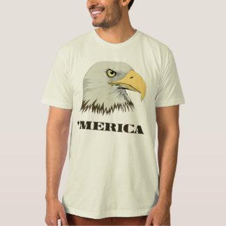Eagle calvo americano para Merica Polera