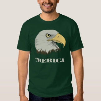 Eagle calvo americano para Merica Poleras