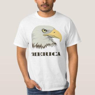 Eagle calvo americano para Merica Remeras