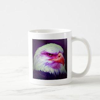 Eagle calvo americano taza de café
