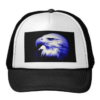 Eagle calvo azul gorras de camionero