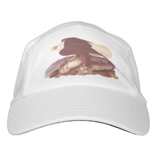 Eagle calvo con el gorra de Peformance de los Gorras De Alto Rendimiento