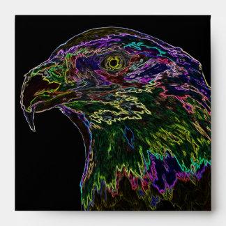 Eagle calvo de neón 2