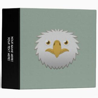 Eagle calvo de papel