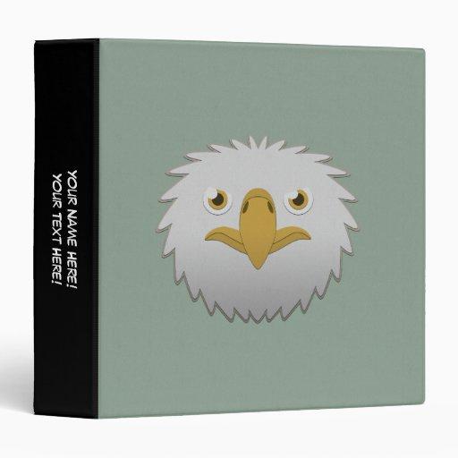 """Eagle calvo de papel carpeta 1 1/2"""""""