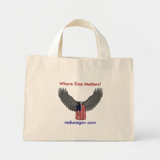 ¡Eagle calvo donde importa el tamaño reducegov Bolsas De Mano