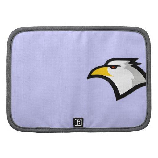 Eagle calvo en azul de la lavanda planificador