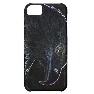 Eagle calvo en el caso de neón del iPhone 5