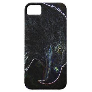 Eagle calvo en el caso de neón del iPhone 5 iPhone 5 Cobertura