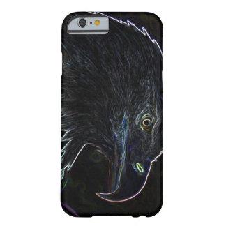 Eagle calvo en el caso de neón del iPhone 6 Funda De iPhone 6 Slim