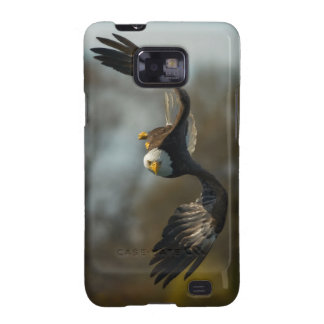 Eagle calvo en la caza samsung galaxy SII carcasa