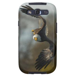Eagle calvo en la caza galaxy SIII coberturas