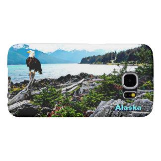 Eagle calvo en la costa de Alaska Fundas Samsung Galaxy S6