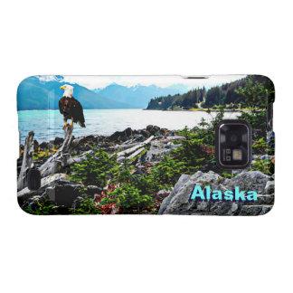 Eagle calvo en la costa de Alaska Samsung Galaxy SII Carcasas