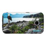 Eagle calvo en la costa de Alaska Funda Samsung Galaxy S6