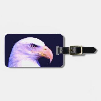 Eagle calvo etiqueta para maleta